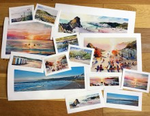 A Perfect Day At The Beach – Prints