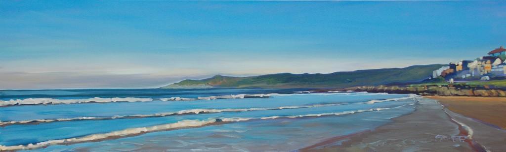 Morning Light oil painting by Steven Pleydell-Pearce