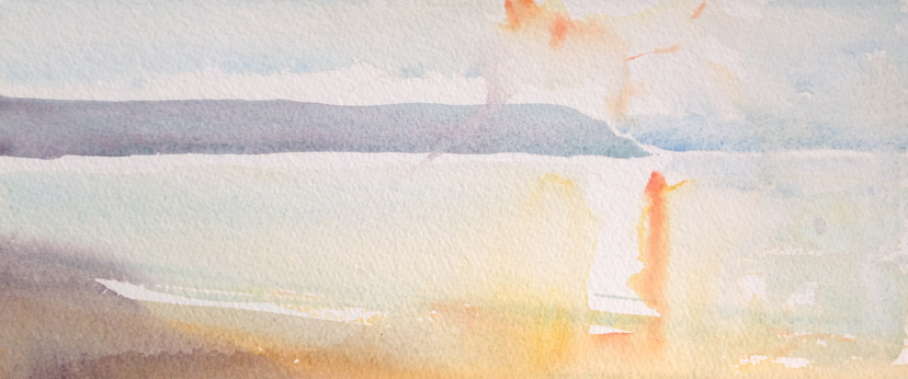 Watercolour studies for sale from the Woolacombe art gallery of Steve PP