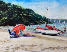 On a Sunny Afternoon, Salcombe Estuary.