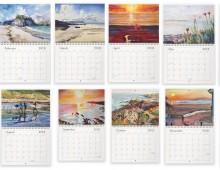 2018 Steve PP Fine Art Wall Calendar