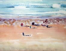 Woolacombe Beach Walkers