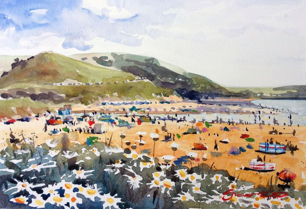 June Bloom - Woolacombe print edition from Steve PP Fine Art