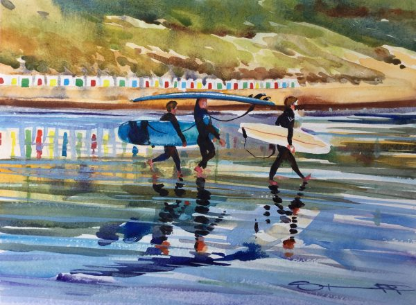 Low Tide, Late Afternoon - Woolacombe print edition from Steve PP Fine Art
