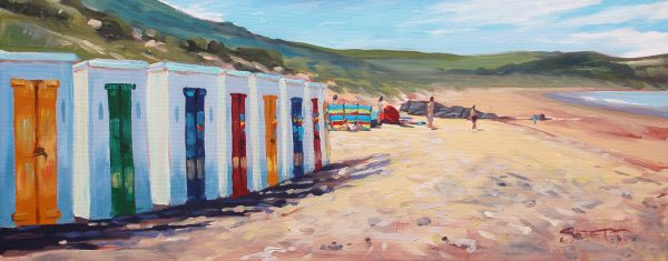 Midday Sun - Woolacombe print edition from Steve PP Fine Art