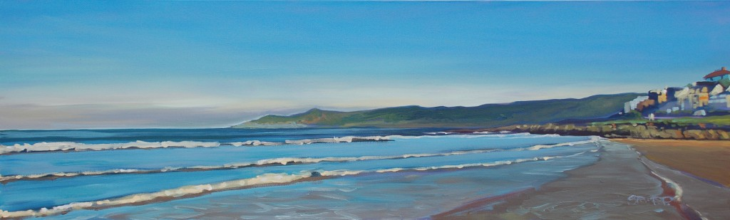 Morning Light - Woolacombe print edition from Steve PP Fine Art- Morning Light Woolacombe Art Print