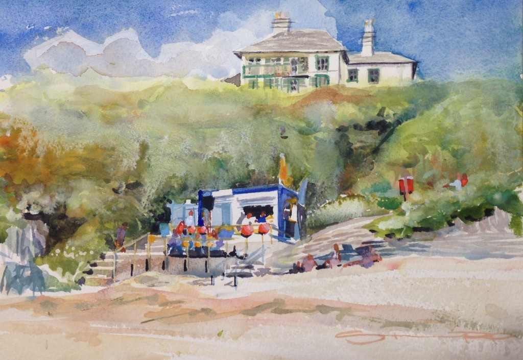 September Barricane - Woolacombe print edition from Steve PP Fine Art
