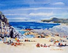 Barricane Beach Sunbathers