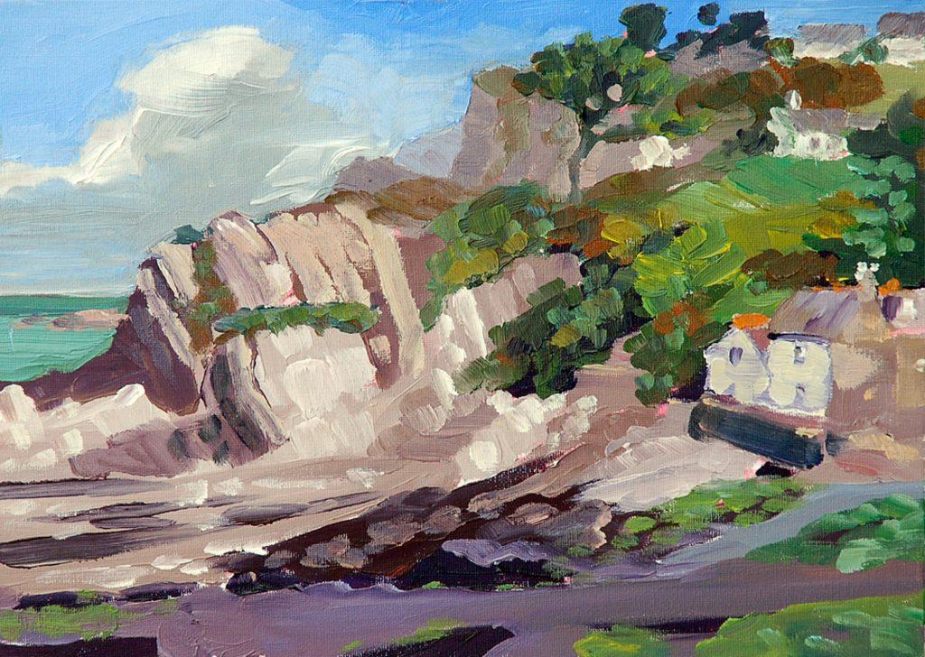 Lee Bay Painting