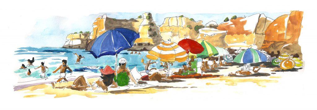 portuguese parasols