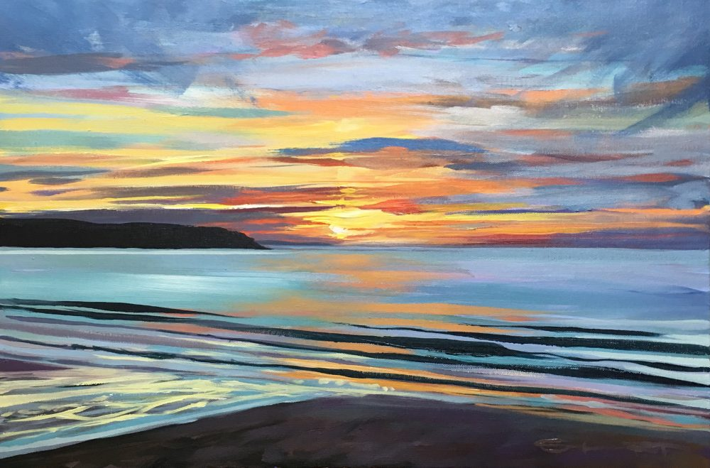 Calm Evening Steve PP Print