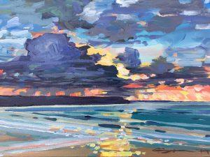 February First Sunset Steve PP Fine Art Woolacombe
