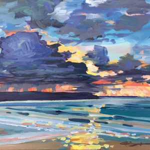 February First Sunset Steve PP Fine Art Woolacombe