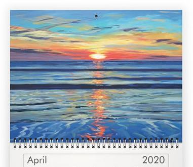 april 2020 Steve PP Calendar