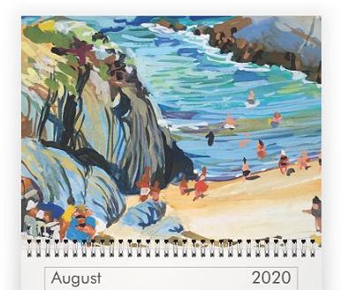 aug Steve PP 2020 Calendar