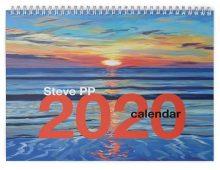 2020 Steve PP Fine Art Calendar.