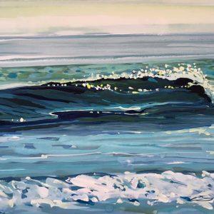 Glassy wave painting Steve PP