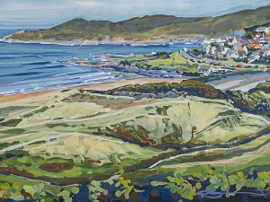 Hot May Woolacombe -Print